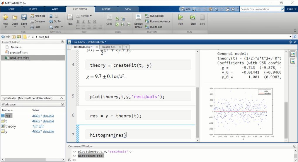 Students developing computational literacy need the fundamental skills for play, immediate feedback, and multiple means of representation, expression, and engagement. See how the MATLAB Live Editor fulfills these needs in a short curriculum example.