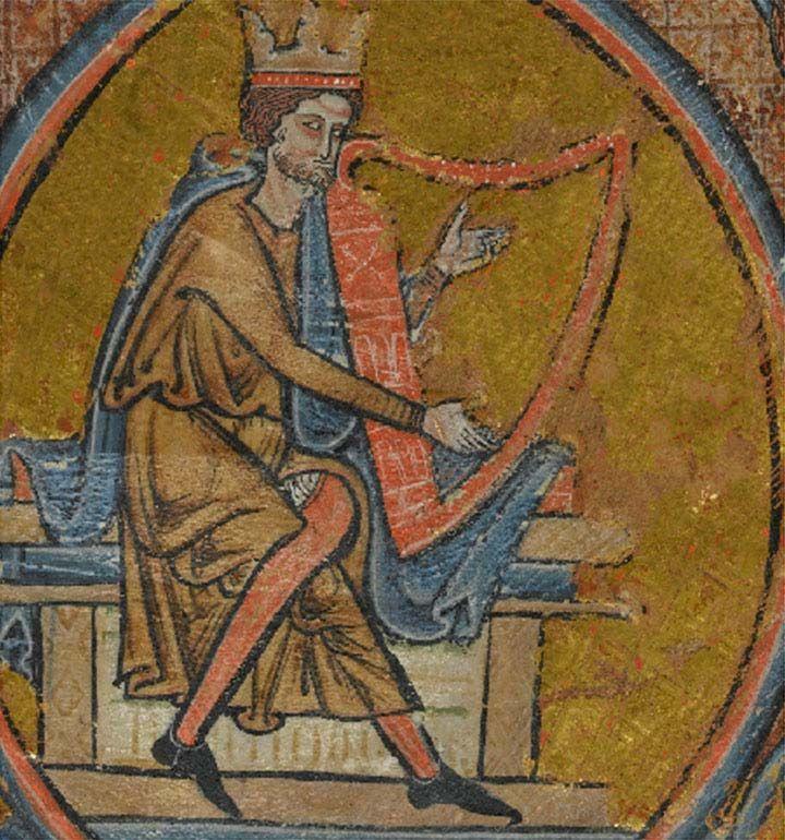 Three images showing progressive restoration of damaged manuscript.