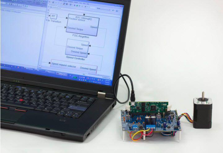 그림 6. 임베디드 프로세서에 대한 PIL 예시.