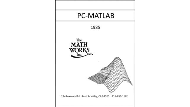 Cleve 코너: MATLAB의 간단한 역사