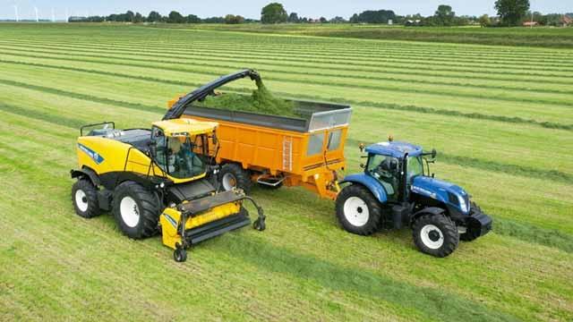 CNH, 목초수확기를 위한 지능형 필링 시스템 개발