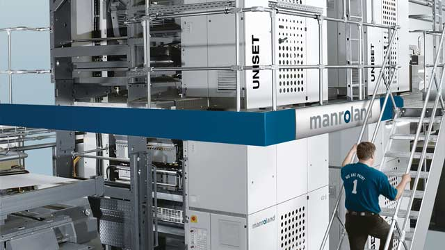 manroland Develops High-Precision Commercial Printing Press Controller