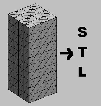 Stl save options binary or ascii