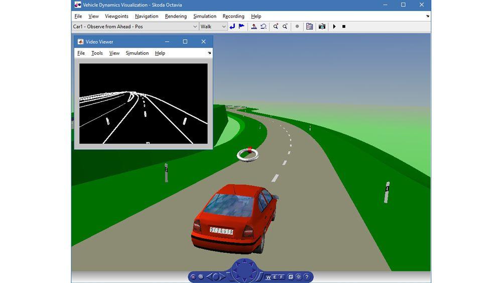차량 동력 시뮬레이션.