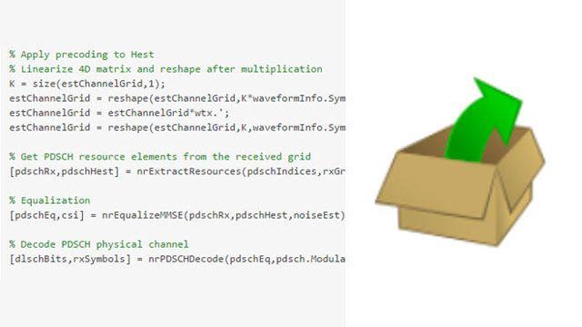 사용자 지정 가능한 개방형 MATLAB 코드.