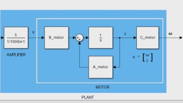 MATLAB 및 Control System Toolbox를 사용하여 상태 공간 모델을 만들고 분석합니다. 상태 공간 모델은 LTI(선형 시불변) 시스템을 나타내는 데 주로 사용됩니다.