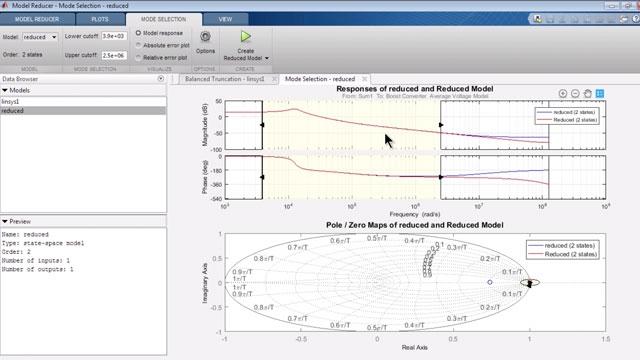 저차 선형 모델에서 비선형 Simulink 모델의 근사치를 구합니다.