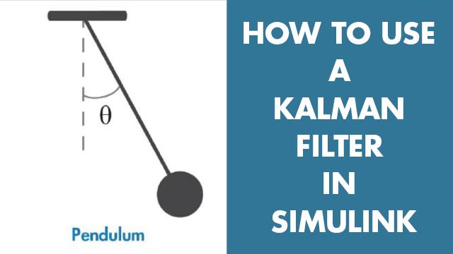 Simulink에서 칼만 필터를 사용하여 간단한 진자 시스템의 각방향 위치를 추정합니다. 시스템 모델, 초기 상태 추정값, 잡음 특징 등 칼만 필터 블록 파라미터를 구성하는 방법을 알아봅니다.