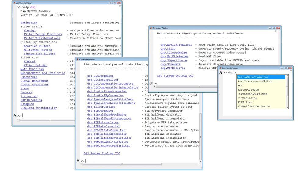 MATLAB에서의 스트리밍 신호 처리를 위한 라이브러리
