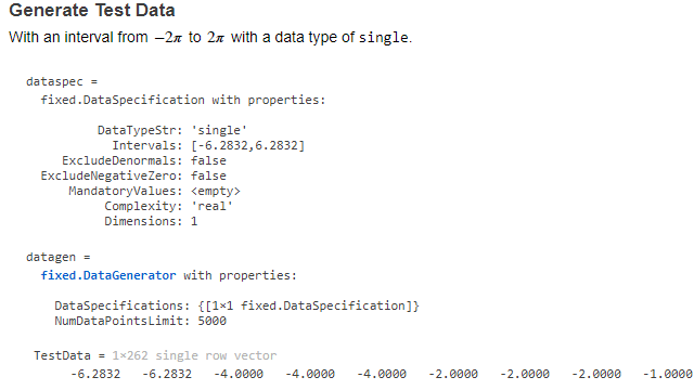 데이터 발생기 API