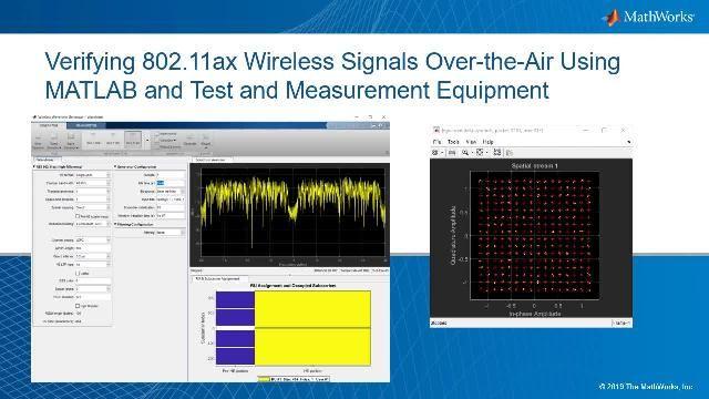 MATLAB 및 테스트 장비를 사용하여 무선 신호를 테스트합니다. 신호의 품질을 평가하기 위해 성상도를 살펴보고 신호의 EVM(오류 벡터 크기)을 계산합니다.