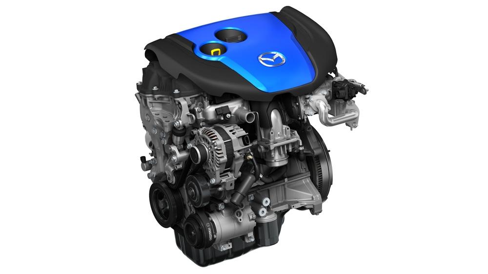 Mazda의 SKYACTIVE-D 엔진.