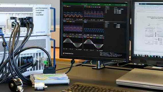신속 프로토타입 제작과 Hardware-in-the-Loop 시뮬레이션을 위한 Speedgoat 하드웨어.