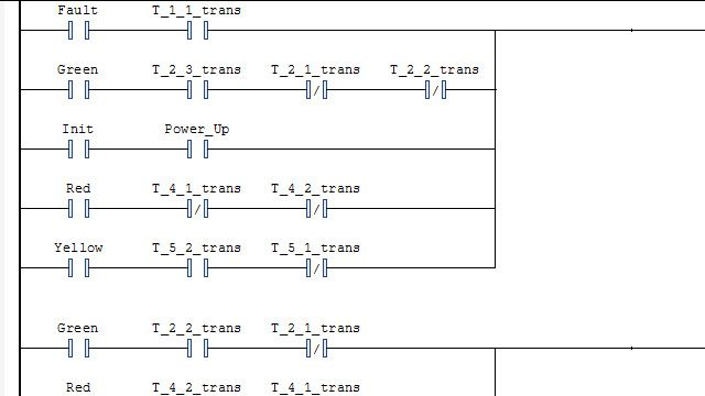 래더 다이어그램을 생성하여 IDE 내가져오세요.
