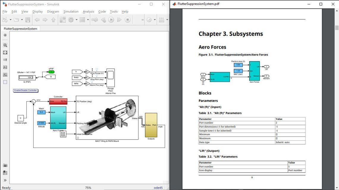 모델에서 나온 시스템 설계 리포트(SDD).