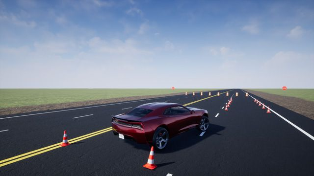 Model and simulate vehicle dynamics in a virtual 3D environment using Vehicle Dynamics Blockset.