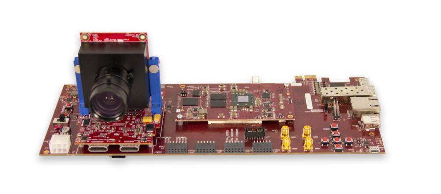 실제 비디오 입력으로 FPGA 하드웨어에서 디자인을 프로토타이핑