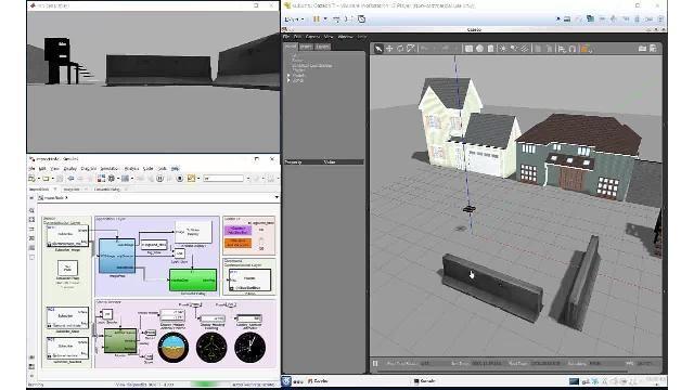 Robotics System Toolbox, ROS Toolbox 및 Gazebo를 사용한 자율 주행 알고리즘의 시뮬레이션 및 검증
