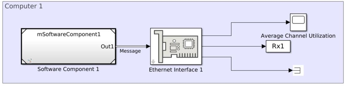 CSMA/CD 프로토콜로 이더넷 통신 네트워크 모델링하기