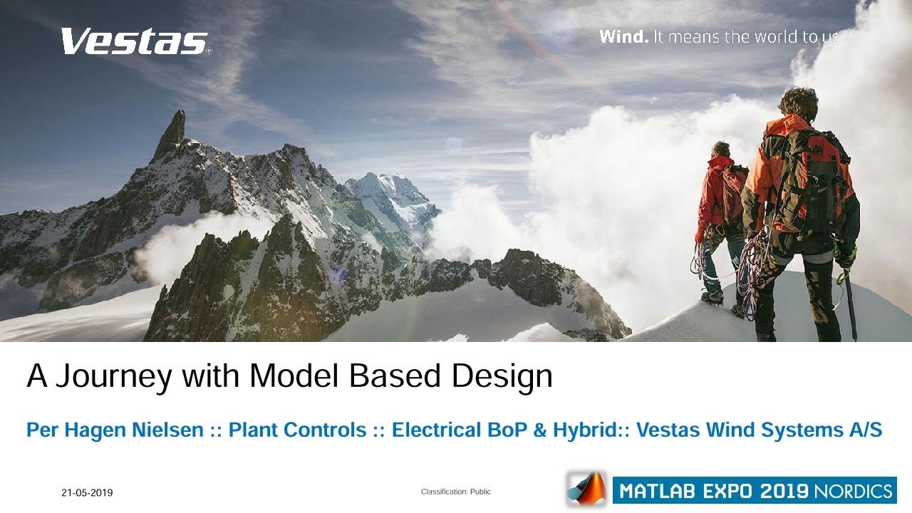 Vestas 하이브리드 발전소 솔루션: 모델 기반 설계의 여정
