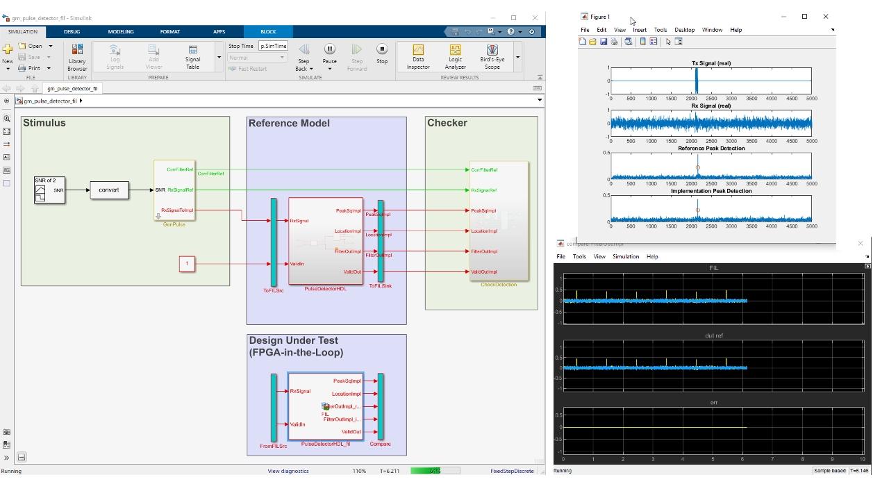 HDL 시뮬레이터와 FPGA-in-the-loop 테스트 벤치를 HDL Verifier와 함께 사용하여 VHDL 및 Verilog를 검증합니다.