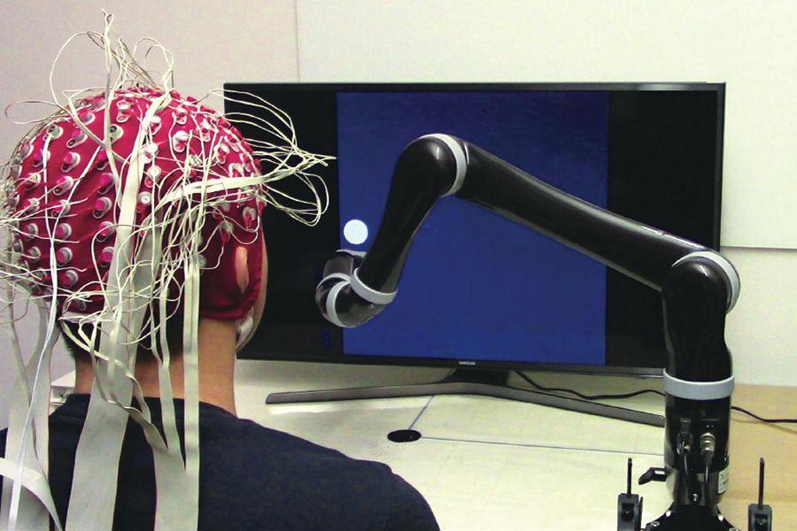 비침습형 BCI(뇌-컴퓨터 인터페이스). 이미지 출처: Carnegie Mellon University