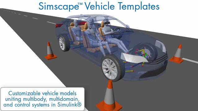 Simscape 차량 템플릿으로 다양한 차량 설계 작업에 활용 가능한 사용자 지정 가능 차량 모델을 구현하는 방법을 확인할 수 있습니다.