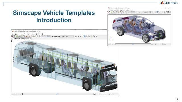 Simscape 차량 템플릿의 개요를 봅니다. 템플릿은 차량의 구성 가능 모델, 사용자 지정 가능한 컴포넌트의 라이브러리, 원하는 이벤트와 차량을 사용자 지정할 때 이용할 수 있는 사용자 인터페이스를 제공합니다.