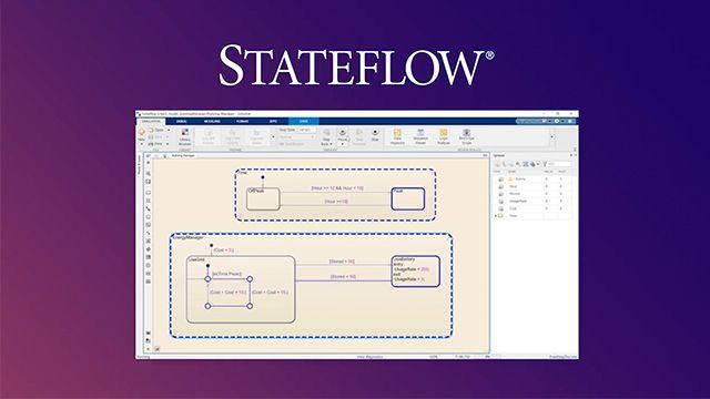 예제를 통해 기본적인 Stateflow 사용법을 알아봅니다. 또한 Stateflow는 실제 시스템의 모델링, 시뮬레이션, 테스트, 구현을 위한 모델 기반 설계의 한 부분일 뿐이라는 사실도 배울 수 있습니다.