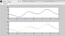MATLAB Answers is a great resource for getting help from the MATLAB community. There was a recent question that inspired this video. I took the question to mean, how can I change the color of a line to correspond with a third vector. Here is my answe