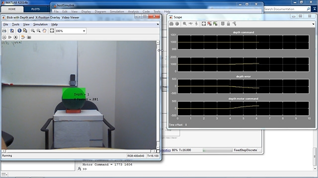 Learn about MathWorks support for unmanned vehicle competitions. See why and how MATLAB and Simulink can be deployed on a desktop computer to run a robotic system.