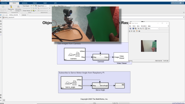 Join Maitreyee Mordekar as she explains how you can deploy standalone ROS nodes on Raspberry Pi using Simulink to showcase an object tracking example.