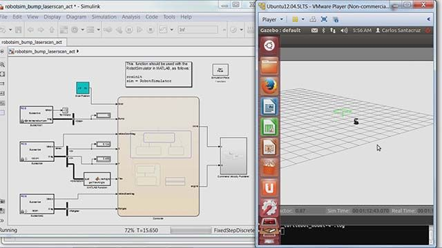 MathWorks engineers demonstrate how to use Robotics System Toolbox for developing robotics applications with ROS-enabled robots and simulators.