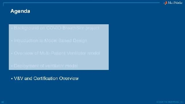 Watch an overview of verification and validation and certification capabilities available in MATLAB and Simulink for medical device development.