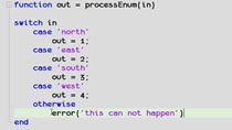 In some code there is an enumerated set of choices. People will use a switch case statement to check for all but one choice and then catch that last one in the 'otherwise' block of their code. However, if there is unexpected inputs, the 'otherwise' w