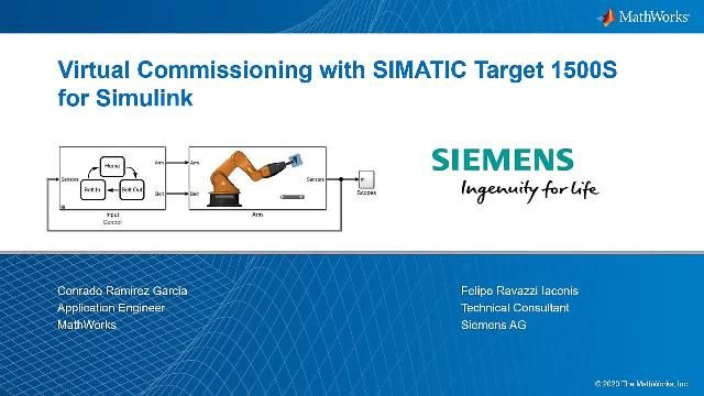Learn how to use a digital twin of your machine to test the control algorithm on your PLC in real time, and see how virtual commissioning takes place with the help of a Siemens S7 PLC.